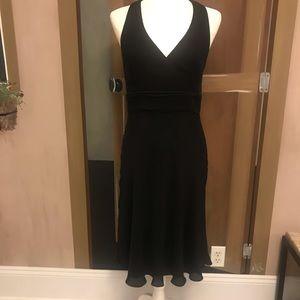 Ann Taylor Petite Black Dress Size 10P
